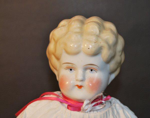 Antieke pop Agnes, Duits - Antiekboerderij Het Wagenwiel (1)