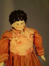 antieke pop, Bertha, ca 1890 - 1910 - Antiekboerderij Het Wagenwiel