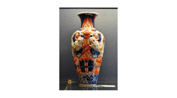 Antieke Japanse Imari 'drakenvaas', eind 19e eeuw