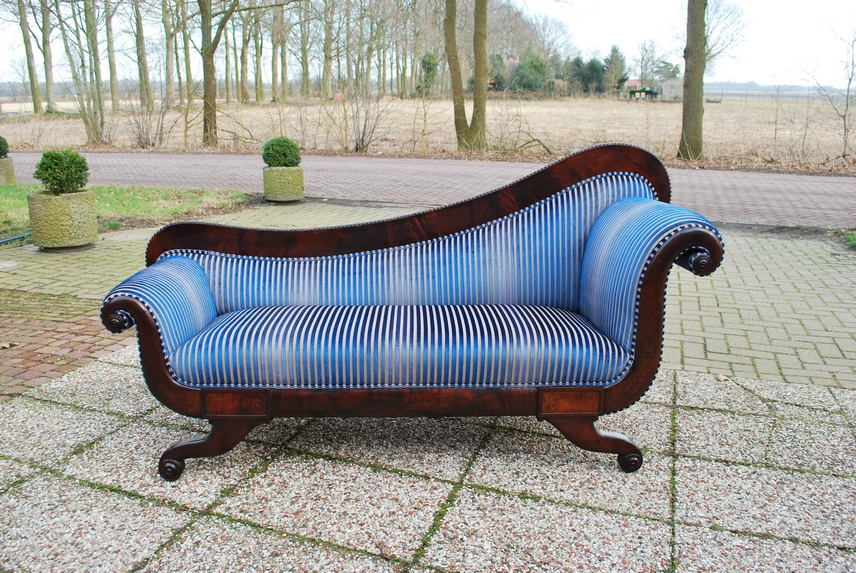 chaise longue archives antiekboerderij het wagenwiel. Black Bedroom Furniture Sets. Home Design Ideas