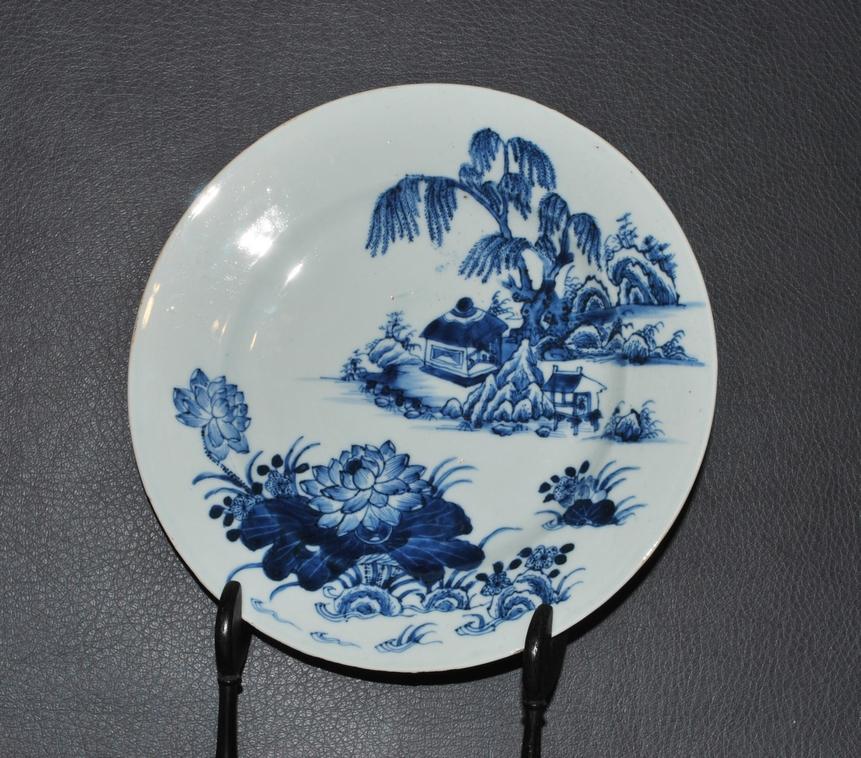 Antiek Chinees porseleinen bord 18e eeuw - Antiekboerderij Het Wagenwiel (2)