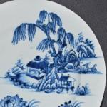 Antiek Chinees porseleinen bord 18e eeuw - Antiekboerderij Het Wagenwiel (4)