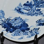 Antiek Chinees porseleinen bord 18e eeuw - Antiekboerderij Het Wagenwiel (5)