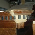 Antiek luierkabinetje, Louis Seize ca 1790 - 1800, eiken, Antiekboerderij Het Wagenwiel (15)
