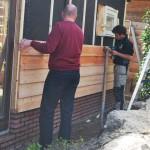 Het Wagenwiel - nieuwe aanbouw showroom koffiehoek augustus 2016 (10a)