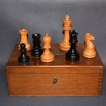 BCC British Chess Company weighted Staunton chess set 4inch - Dorland Chess
