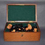 BCC British Chess Company weighted Staunton chess set 4inch - Dorland Chess 9
