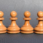 BCC British Chess Company weighted Staunton chess set 4inch - Dorland Chess 5