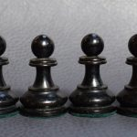 BCC British Chess Company weighted Staunton chess set 4inch - Dorland Chess 6