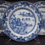 Antieke Chinese borden porselein Qianlong ca 1750 - Antiekboerderij Het Wagenwiel 3