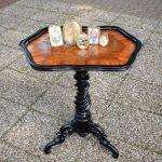 Antieke theetafel Willem III - 1870 notenhout - Antiekboerderij Het Wagenwiel 5