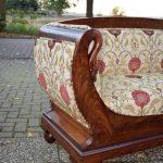Antieke bank sofa mahonie Biedermeier ca 1850 - Antiekboerderij Het Wagenwiel 3