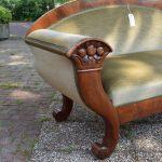 Antieke bank sofa, mahonie, Biedermeier ca 1840 - Antiekboerderij Het Wagenwiel (3)