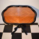 Antieke theetafel Gebr Horrix Willem III 1870 - Antiekboerderij Het Wagenwiel (2)