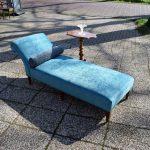 Antiek daybed sofa, Victoriaans ca 1900 - Antiekboerderij Het Wagenwiel (2)