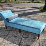 Antiek daybed sofa, Victoriaans ca 1900 - Antiekboerderij Het Wagenwiel (3)