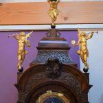 Antiek staand horloge, JP Kroese Amsterdam ca 1750 - Antiekboerderij Het Wagenwiel (1)
