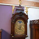 Antiek staand horloge, JP Kroese Amsterdam ca 1750 - Antiekboerderij Het Wagenwiel (3)