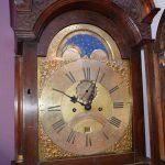 Antiek staand horloge, JP Kroese Amsterdam ca 1750 - Antiekboerderij Het Wagenwiel (5)