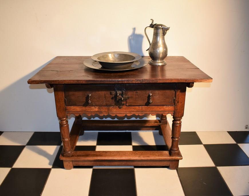 Antieke-betaaltafel-eiken-18e-eeuw-Antiekboerderij-Het-Wagenwiel-1